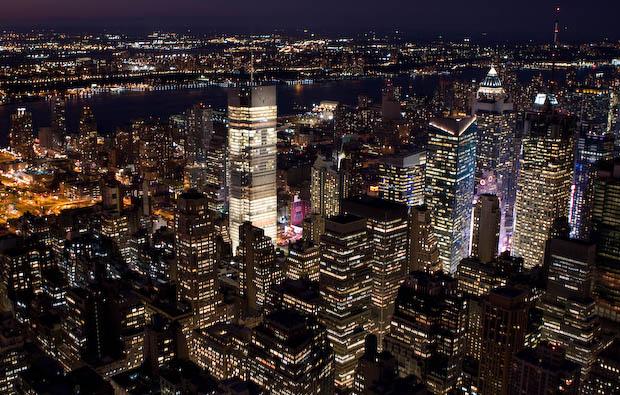 Vista de NY desde el Empire State I